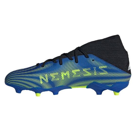 adidas Nemeziz .3 Football Boots, Blue, rebel_hi-res