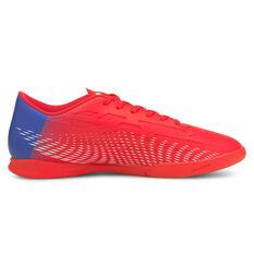 Puma Ultra 4.3 Indoor Soccer Shoes Red/Blue US Mens 7 / Womens 8.5, Red/Blue, rebel_hi-res