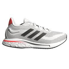 adidas Supernova Kids Running Shoes White/Red US 4, White/Red, rebel_hi-res