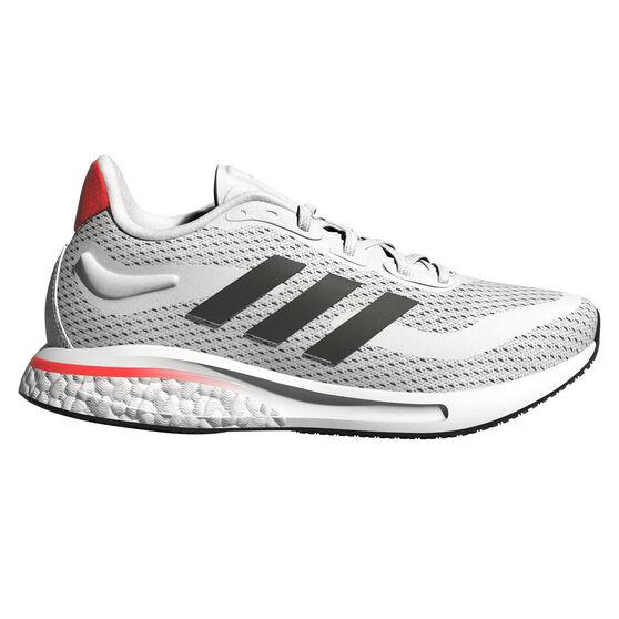adidas Supernova Kids Running Shoes, White/Red, rebel_hi-res