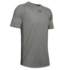 Under Armour Mens Charged Cotton Tee, Green, rebel_hi-res