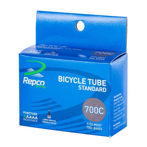 Repco Standard 700C Long French Valve Bike Tube, , rebel_hi-res
