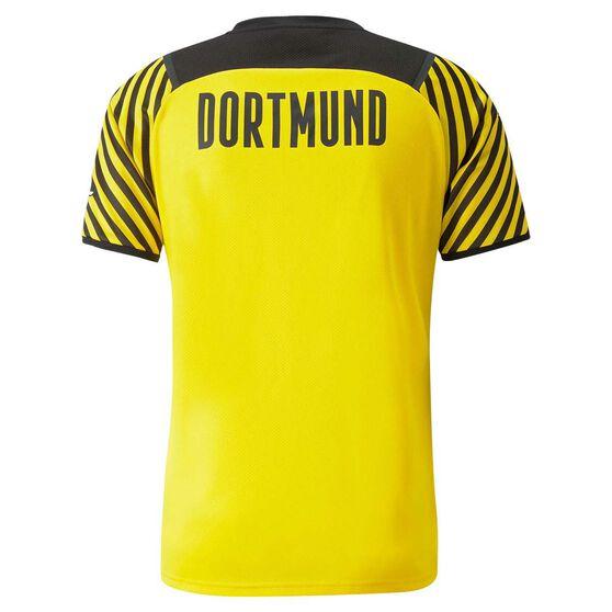 Borussia Dortmund 2021/22 Mens Home Jersey, Yellow, rebel_hi-res