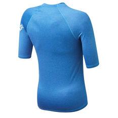 Quiksilver Boys All Time Rash Vest Blue 8, Blue, rebel_hi-res