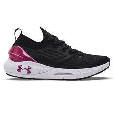 Under Armour HOVR Phantom 2 Womens Running Shoes Black/White US 6, Black/White, rebel_hi-res