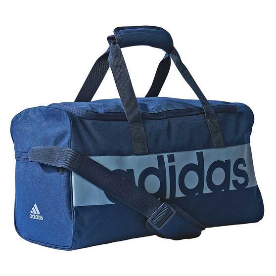 adidas Linear Performance Sports Bag Navy   Blue, , rebel hi-res 90f1f7be0b