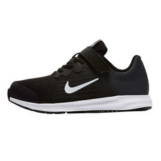 Nike Downshifter 8 Junior Running Shoes Black / White US 11, Black / White, rebel_hi-res