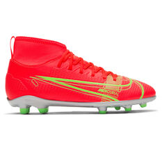 Nike Mercurial Superfly 8 Club Kids Football Boots Crimson US 1, Crimson, rebel_hi-res