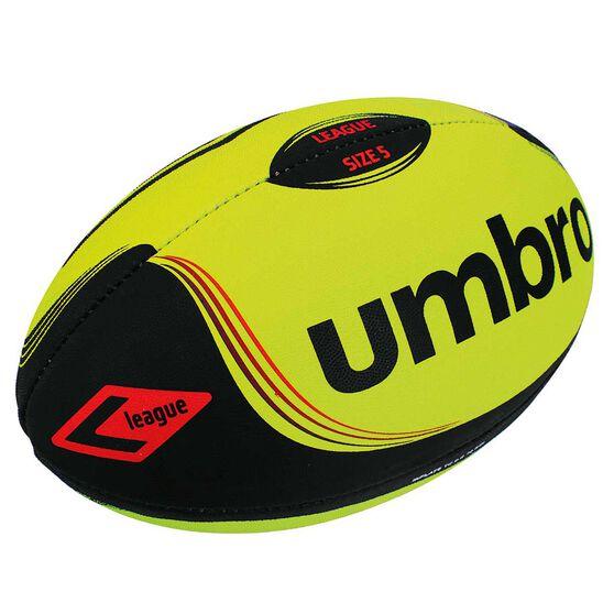Umbro League Fluro Ball Yellow / Black 5, , rebel_hi-res