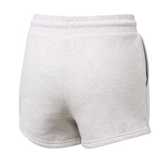 Majestic Womens Cali NY Yankees Fleece Shorts White XS, White, rebel_hi-res