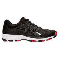 Asics Netburner Professional FF Womens Netball Shoes Black/White US 7, Black/White, rebel_hi-res