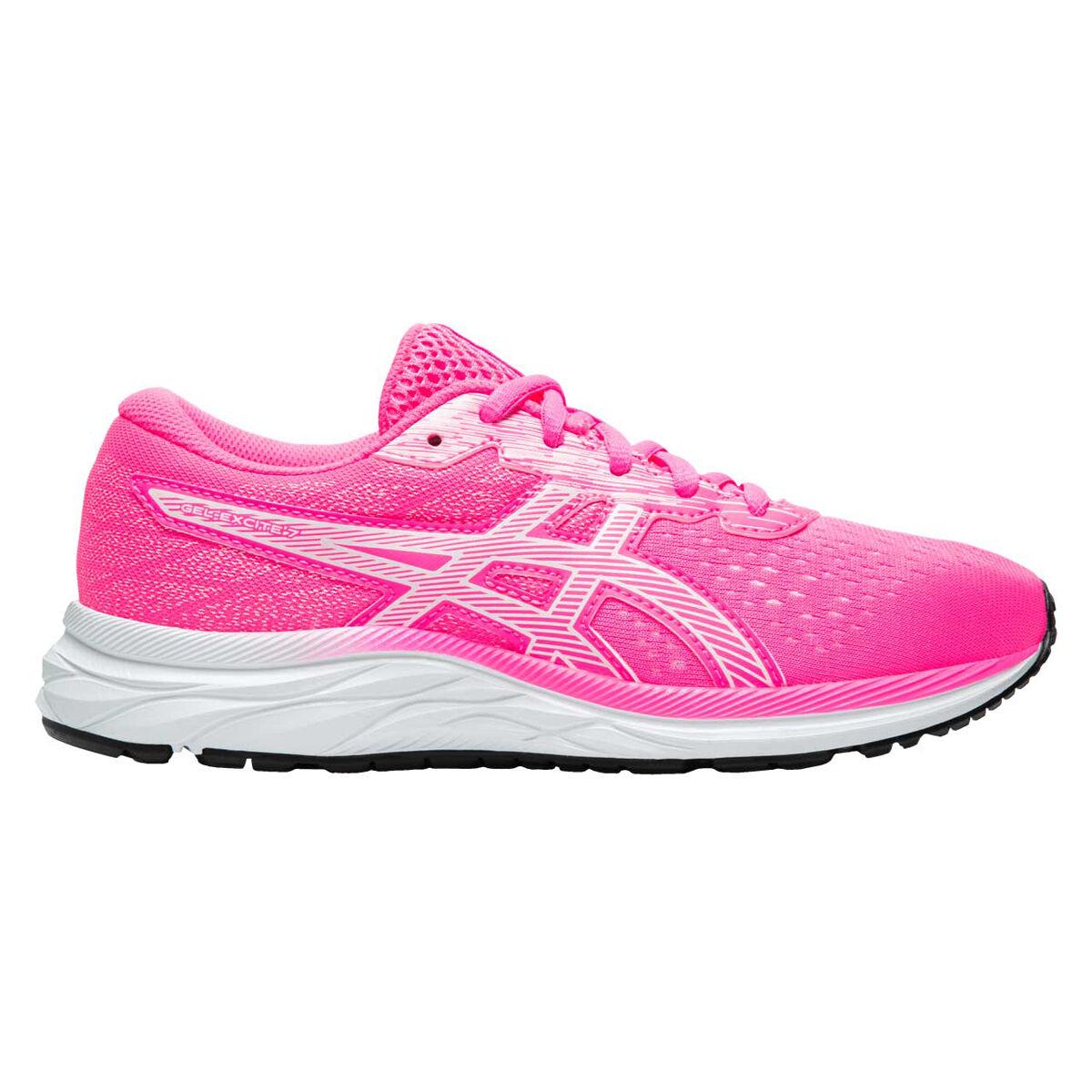 Asics GEL Excite 7 Kids Running Shoes Pink / White US 4