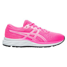 Asics GEL Excite 7 Kids Running Shoes Pink / White US 4, Pink / White, rebel_hi-res