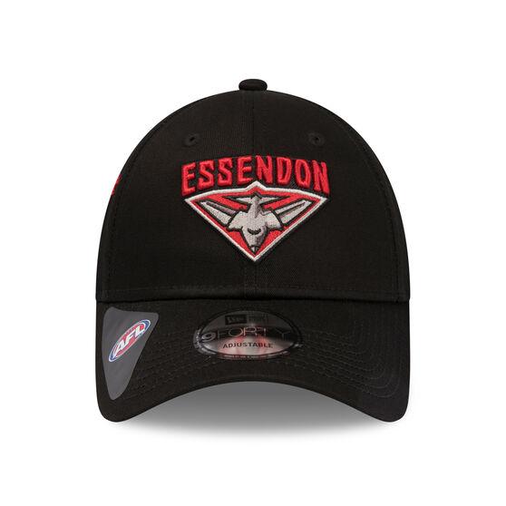 Essendon Bombers 2019 New Era 9FORTY Media Cap, , rebel_hi-res