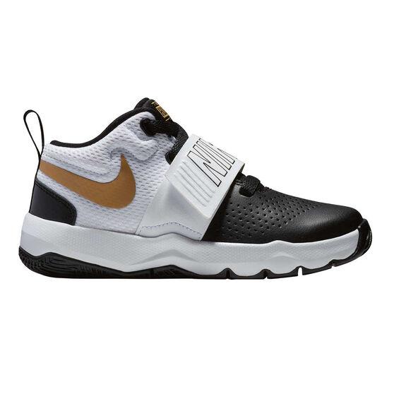 eaa51fbe9ae8 Nike Team Hustle D 8 Junior Boys Basketball Shoes