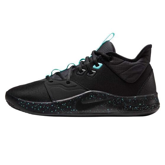 Nike PG 3 Mens Basketball Shoes, Black, rebel_hi-res