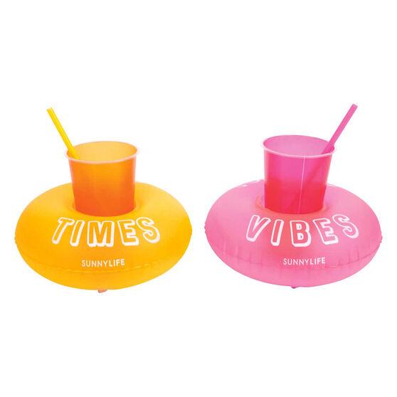 Sunnylife Inflatable Malibu Party Drink Holders, , rebel_hi-res