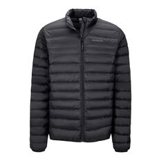 Macpac Mens Uber Light Down Jacket, Black, rebel_hi-res