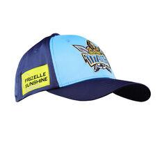 Gold Coast Titans 2021 Media Cap Blue OSFM, , rebel_hi-res