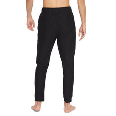 Nike Mens Dri-Fit Fleece Yoga Pants Black S, Black, rebel_hi-res