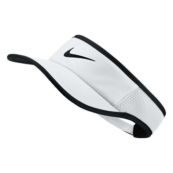 Nike Mens AeroBill FeatherLight Cap White / Black OSFA, , rebel_hi-res