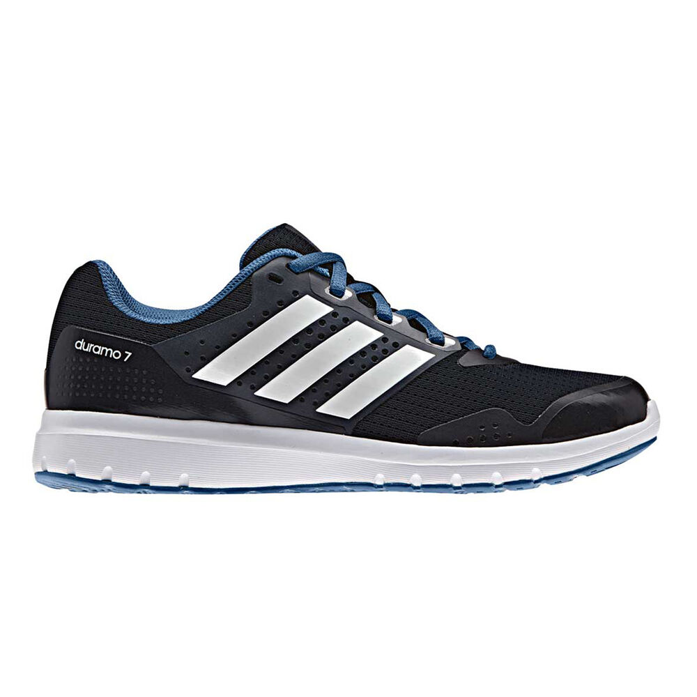 huge selection of 93fb2 e5e8b adidas Duramo 7 Womens Running Shoes Navy   White US 10, Navy   White,
