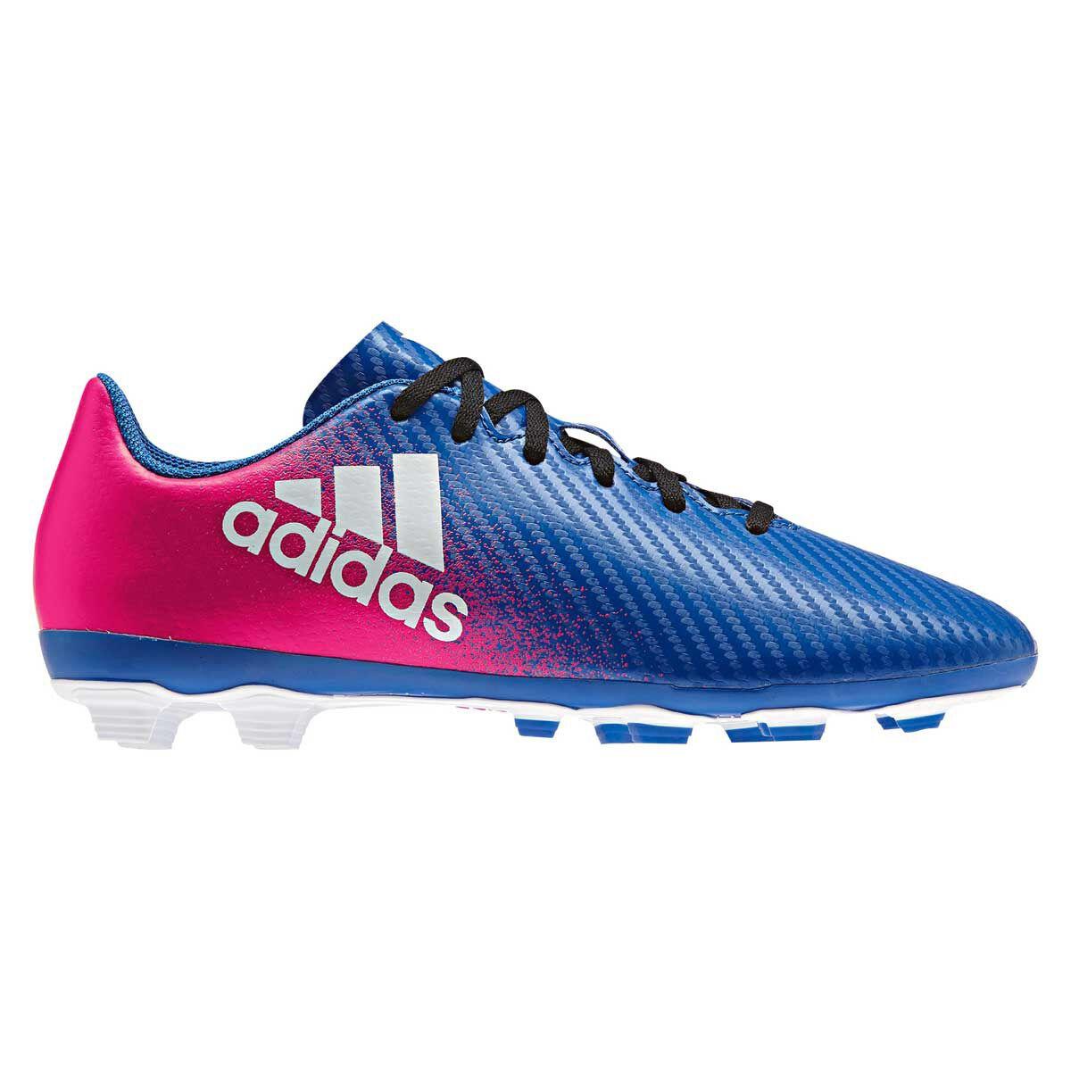 e0731a303aae ... clearance adidas x16.4 fxg junior football boots pink blue us 11 junior  pink 03aec