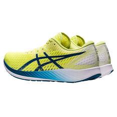Asics Hyper Speed Mens Running Shoes, Yellow/Blue, rebel_hi-res