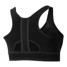 Nike Womens UltraBreathe Medium Support Sports Bra Black XS, Black, rebel_hi-res