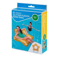 Verao Glitter Fusion Inflatable Swim Ring, , rebel_hi-res