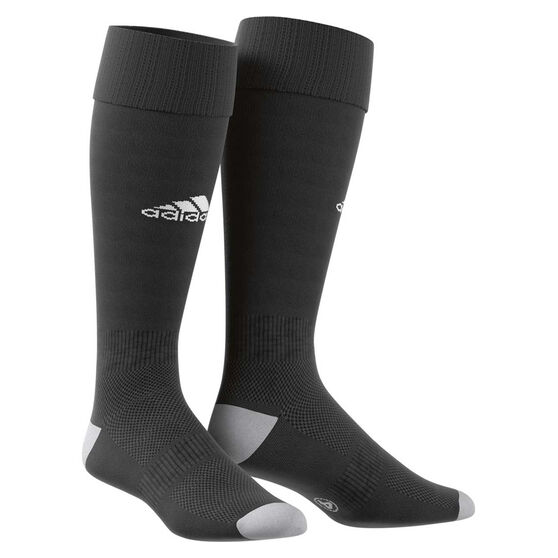 adidas Milano 16 Football Socks, Black / White, rebel_hi-res
