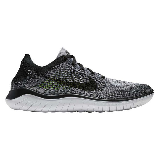 low priced 14533 4a2d5 Nike Free RN Flyknit 2018 Mens Running Shoes White US 10, White, rebel hi-