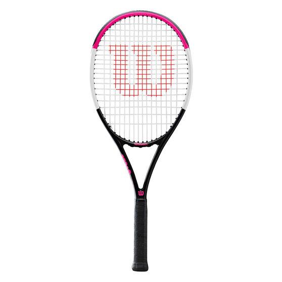 Wilson Nemesis Team 3.0 Tennis Racquet Pink 4 1/4 in, Pink, rebel_hi-res