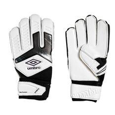 Umbro Neo Precision Kids Goalkeeping Gloves White / Purple 4, White / Purple, rebel_hi-res