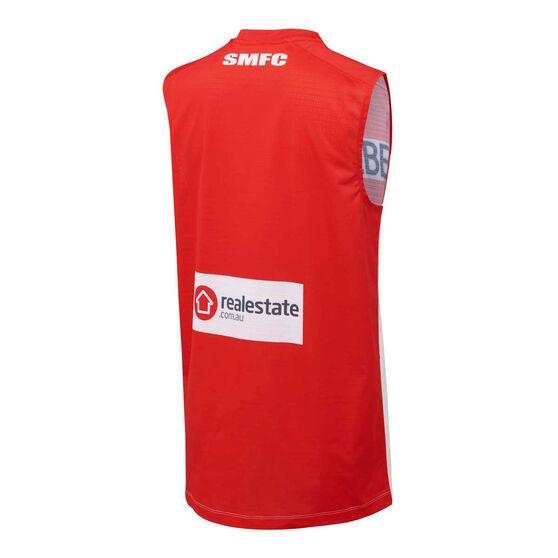 Sydney Swans 2021 Mens Home Guernsey, Red/White, rebel_hi-res