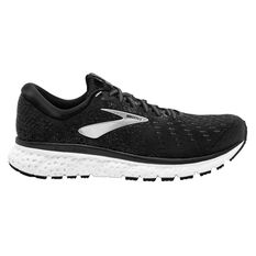 Brooks Glycerin 17 Mens Running Shoes Black / White US 8, Black / White, rebel_hi-res