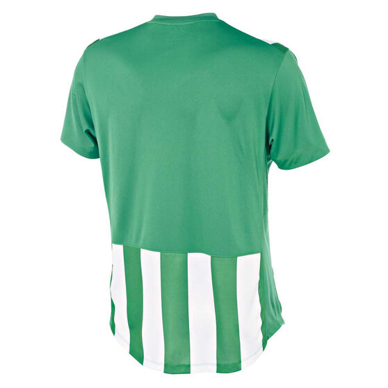 Umbro Mens Striped Jersey, Green / White, rebel_hi-res