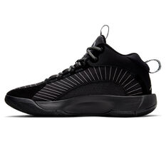 Nike Jordan Jumpman 2021 Mens Basketball Shoes Black/Silver US 7, Black/Silver, rebel_hi-res