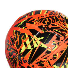 adidas Messi Club Soccer Ball Orange 3, Orange, rebel_hi-res