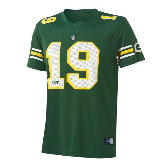Green Bay Packers Poly Mesh Tee, , rebel_hi-res