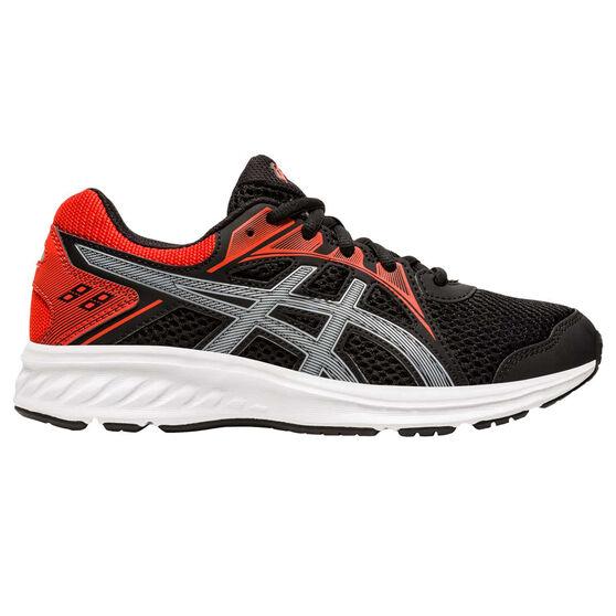 Asics Jolt 2 Kids Running Shoes, Black/Red, rebel_hi-res