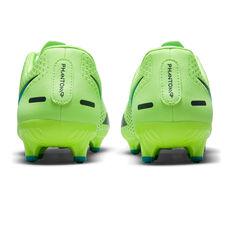 Nike Phantom GT Academy Football Boots, Green/Blue, rebel_hi-res