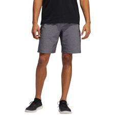 adidas Mens Axis Heathered Shorts Grey, Grey, rebel_hi-res