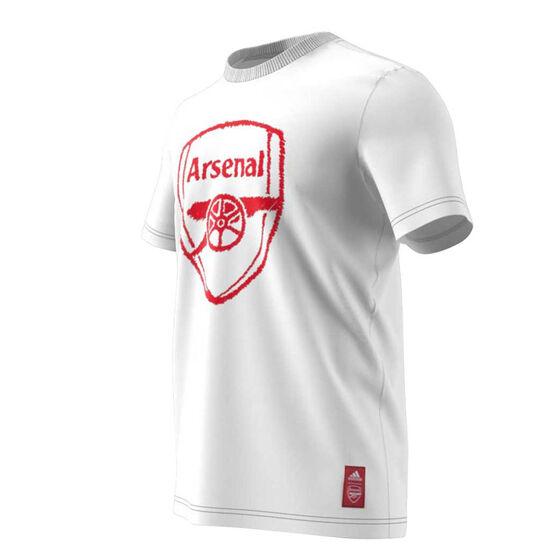 Arsenal 2020/21 Mens DNA Tee, White, rebel_hi-res