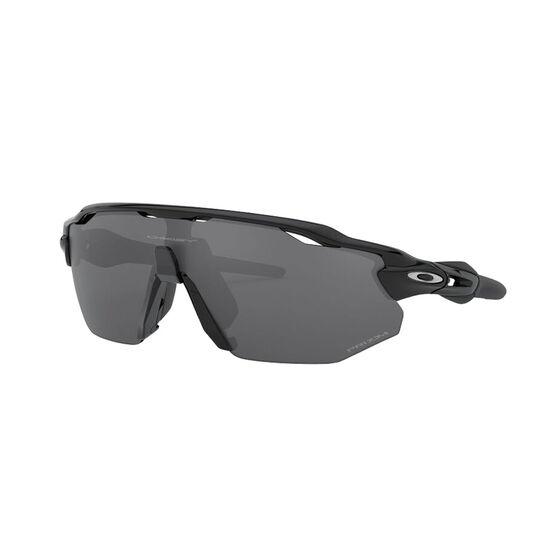 OAKLEY Radar EV Advancer Sunglasses - Polished Black with PRIZM Black Polarized, , rebel_hi-res
