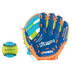 Franklin Tee Ball 9.5in Baseball Glove and Ball Set Multi, , rebel_hi-res