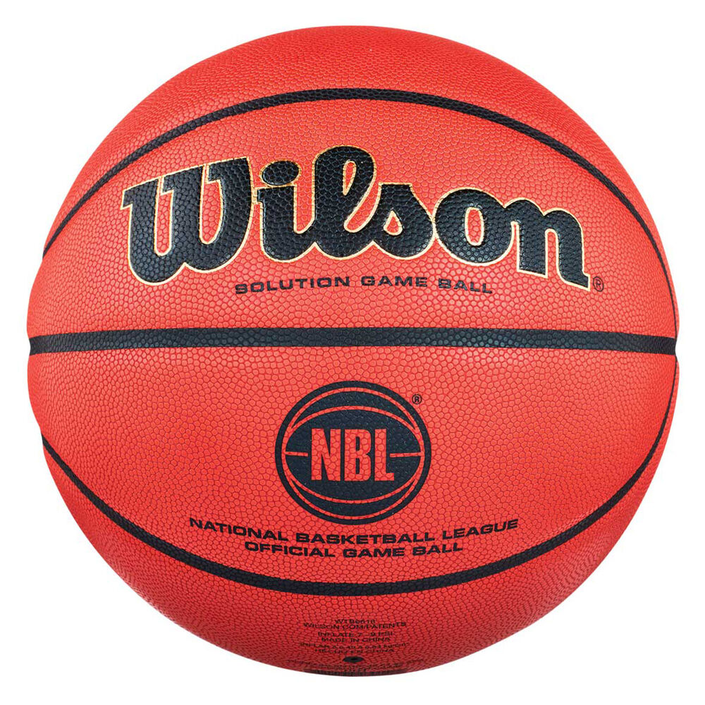 Wilson Solution Official NBL Game Ball 7  c1247e419f