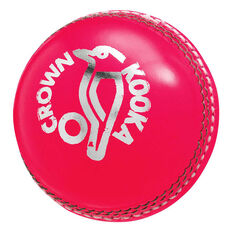 Kookaburra Crown Cricket Ball Pink 142g, Pink, rebel_hi-res