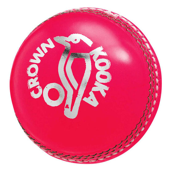Kookaburra Crown Cricket Ball, Pink, rebel_hi-res