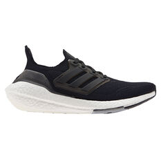 adidas Ultraboost 21 Womens Running Shoes Black US 6, Black, rebel_hi-res